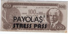 PAYOLAS  Backstage Pass Stress 1980's Fasson NM CANADIAN VANCOUVER ROCK BAND From The Mighty Finwah Collection  Safely Stored For Over 30 Years   COMFORT ITEMS FOR UNIQUE TIMES  Shipping will be within 2 days of your payment  All Sales are Guaranteed Satisfaction  We are Fans so we know what fans Expect One Dollar, All Sale, 30 Years, Rock Bands, Backstage, Vancouver, 1980s, Stress, Fans