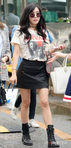 SNSD Tiffany Kpop Fashion 150821 2015