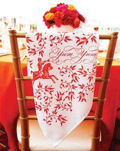 como decorar sillas de bodas