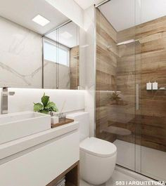 6 Most Useful Small Bathroom Design Ideas - Des Home Design Bathroom Design Luxury, Bathroom Layout, Modern Bathroom Design, Bathroom Ideas, Laundry In Bathroom, Small Bathroom, White Bathroom, Bathroom Design Inspiration, Bathroom Flooring