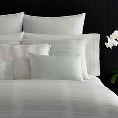 Dress up your bedroom with gorgeous Designer Bedding Sets! Here is a list of our top 10 picks regrouping the best designer duvet covers, and sheets pillows. Down Pillows, Bed Pillows, Bed Linens, Paint Stripes, Duvet Cover Design, Cool Beds, Duvet Sets, Bedding Collections, Bed Spreads