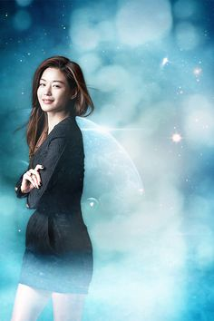 Jeon Ji Hyun as Cheon Song Yi ♡ #Kdrama // You Came From The Stars