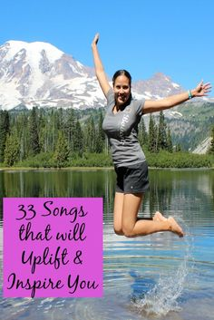 Music can cheer us up, give us energy, and help us get through a tough time. Here's 33 uplifting, empowering songs--including spotify album & youtube videos!
