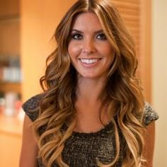 Audrina Patridge's stylist shows you step by step how he styles her hair like this.