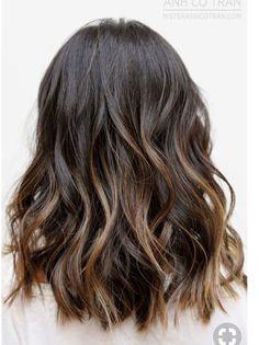 Dark brunette with subtle brown hues