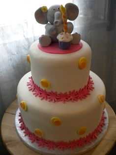 Ellie the Elephant Cake
