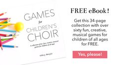 10 Movement Activities for Children's Choir