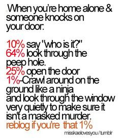 I am most definitely part of that one percent !!!