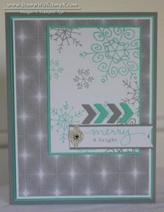 Endless Wishes with Winter Frost by amyk3868 - Cards and Paper Crafts at Splitcoaststampers