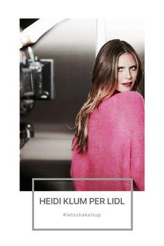 Lidl, Heidi Klum, Fashion, Moda, Fashion Styles, Fashion Illustrations