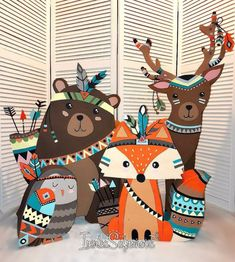 Новости Baby Party, Baby Shower Parties, Baby Boy Shower, Baby Shower Themes, Party Animals, Animal Party, Forest Party, Woodland Party, Fall Birthday