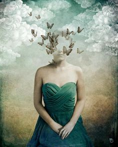 Painting by Christian Schloe