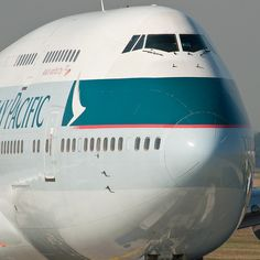 Cathay Pacific Airways Boeing 747-412 B-HKF (35586) by Thomas Becker, via Flickr