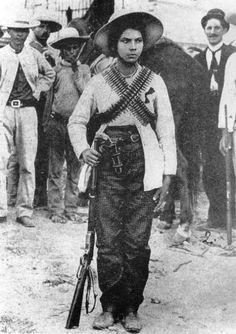 z- Soldadera of Mexican Revolution
