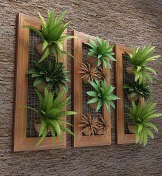 Resultado de imagem para cozinhas com painel de madeira para plantas