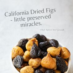 Celebrating the Quality of California Figs Dried Fig Recipes, Delicious Recipes, Yummy Food, Dried Figs, California History, Preserves, Benefit, Breakfast, Board