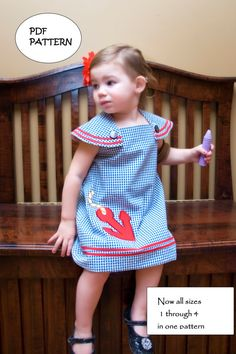 Anchors Away a PDF downloadable pattern multisize 1 by tookietots, $9.00