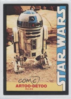 R2-D2 (Trading Card) 1977 Wonder Bread Star Wars Food Issue [Base] #8 @ niftywarehouse.com #NiftyWarehouse #Geek #Products #StarWars #Movies #Film