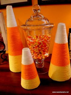 Cute and easy idea for Halloween decorations by barbara.stone