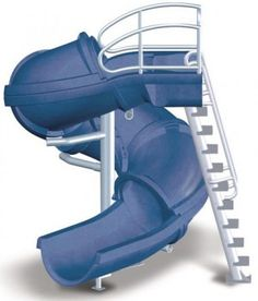 inground pool slides | the vortex pool slide is perfect for any in ground swimming pool it ...
