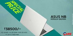 Offer On Asus Latest Launch Laptops Offer Price !!!  Just Visit Us - www.careoffice.co.in Inquire Online Getting Best Price ...