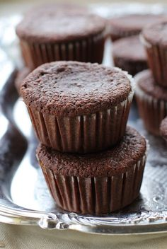 Chocolate Beet Muffins - grain-free, refined sugar-free, and paleo-friendly. Super healthy and tastes like chocolate cake! | theroastedroot.net #glutenfree #healthy #dessert