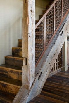 rustic railing ballusters  Stair Railing and Balcony Handrail  Cabin contemporary  Pinterest  Stair railing Balconies and Cabin