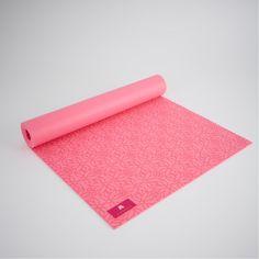 Eternal Lotus Eco Yoga Mat - non-slip eco-friendly beautiful lotus print yoga mat. #yogamat #yoga