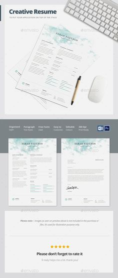 Clean Resume Graphic designers, Cleaning and Simple resume template - a simple resume