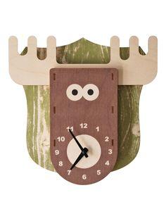 Modern Moose - Moose Clock  
