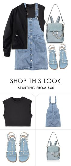 """Untitled #11"" by sagelincoln ❤ liked on Polyvore featuring Yeezy by Kanye West, H&M and Chloé"