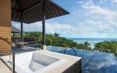 Vana Belle, A Luxury Collection Resort - Koh Samui: Der Meerblick aus der Ocean View Pool Suite ist atemberaubend.   http://www.ewtc.de/Thailand/Koh-Samui/Hotel/Vana-Belle-A-Luxury-Collection-Resort.html