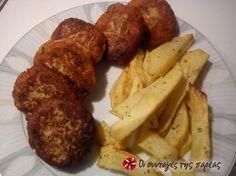 Καβουροκεφτέδες #sintagespareas Greek Recipes, Finger Food, Potatoes, Vegetables, Potato, Veggies, Greek Food Recipes, Vegetable Recipes, Finger Foods