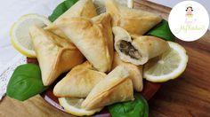 Rezept | Fatayer | libanesische Spinatteigtaschen | Teigtaschen | libane...