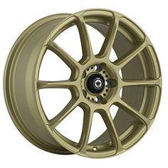 """Konig RUNLITE Gold Wheel (18x8""""/5x112mm, +45mm offset)"""