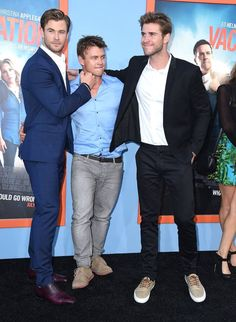 Pin for Later: 10 Times Chris and Liam Hemsworth Gave Us Sibling Goals When They Included Their Older Brother, Luke, in on the Fun