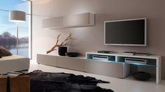 Wohnwand Patricia - modernes Ambiente im Wohnzimmer #livingroom