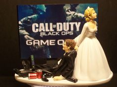 Video Game Call of Duty Black Ops Bride and Groom by mikeg1968, $69.99