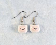 Finn Adventure Time Earrings D Choice of Sterling by aLilBitOfCute, $10.00