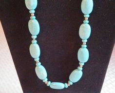 Turquoise Drops by MarysGiftHouse on Etsy