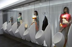 Mens toilets in Loop 5 Shopping Center Darmstadt, Germany
