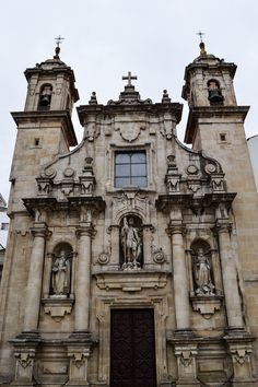 Detalle Fachada, Iglesia de San Jorge (A Coruña - Spain)