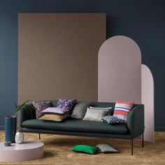 Continuing with my round ups of what my favorite brands are up to for Spring, today I'm looking at Ferm Living. Ferm Living has always been at the forefront of scandi-modern style and for Spr… Eileen Gray, Eames, Pineapple Design, Modern Throw Pillows, 3 Seater Sofa, Decorative Cushions, Lana, Love Seat, Upholstery