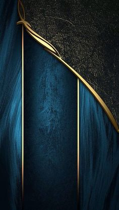 Beautiful gold, blue and black materials in different textures. Gold Wallpaper Border, Ps Wallpaper, Phone Wallpaper Design, Black Wallpaper Iphone, Cellphone Wallpaper, Colorful Wallpaper, Designer Wallpaper, Pattern Wallpaper, Paisley Wallpaper
