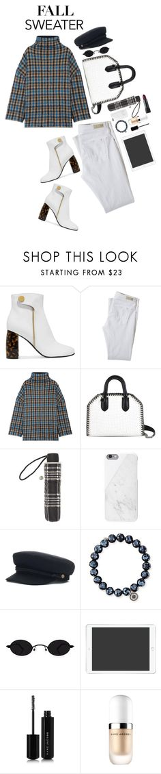 """Fall Is Coming"" by noa5353 ❤ liked on Polyvore featuring STELLA McCARTNEY, AG Adriano Goldschmied, John Lewis, Sydney Evan, Marc Jacobs, Bite, NYFW and chunkyknits"