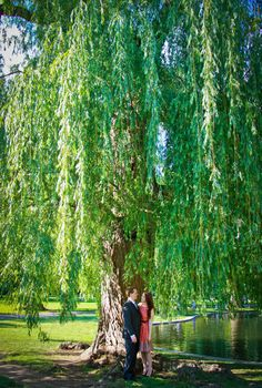the French themed engagement session of @Meaghan S at Boston Public Gardens is featured on @Wedding Window blog #WedLoft today!!! :D #BriannaCoxPhotography #FrenchInspired #EngagementShoot