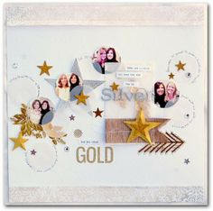 Silver & Gold**Scrapbooking***12-9-13