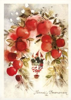 Minna Immonen | Art Cherries and Elves