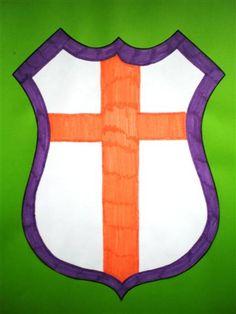 wapenschild maken Preschool Curriculum, Homeschool, Chateau Medieval, One Day I Will, Diy Toys, Halloween, Stencils, Kids, Knights