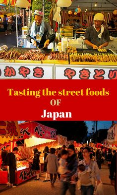 Here are some of the popular street foods of Japan called Yatai that you should be on the look out for at any of the food venues, events or locations around Japan that serve many of these popular take out foods Travel Abroad, Asia Travel, Japan Travel, Travel Tips, Ireland Hotels, Ireland Travel, Japanese Street Food, Japanese Food, Backpacking Ireland